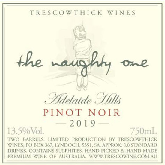 Picture of 2019 Adelaide Hills Pinot Noir The Naughty One