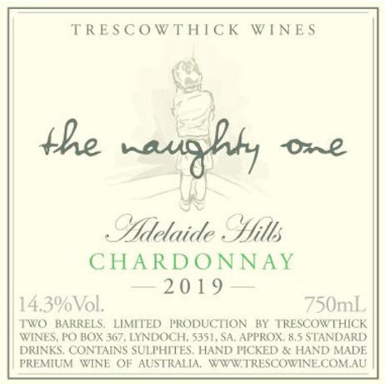 Picture of 2019 Adelaide Hills Chardonnay The Naughty One